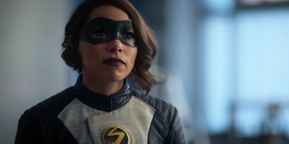 Jessica Parker Kennedy as Nora West-Allen in The Flash