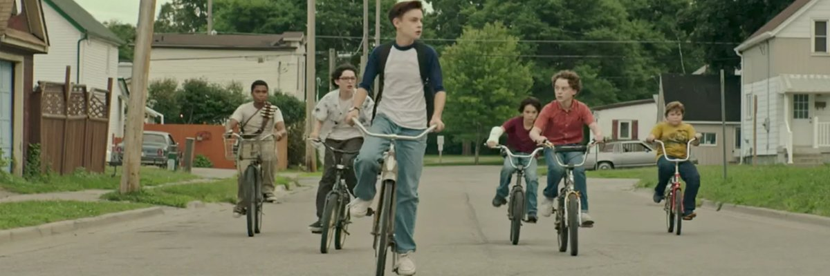 The Losers Club on Bikes