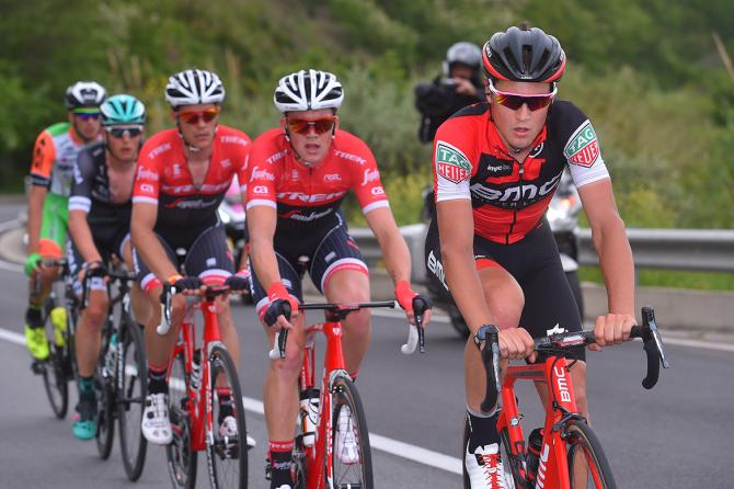 Silvan Dillier (BMC) made it into the breakaway