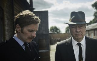 Endeavour Shaun Evans and Roger Allam