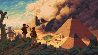 The pixel art tactics game about shooting Nazis in tombs is being published by Chucklefish