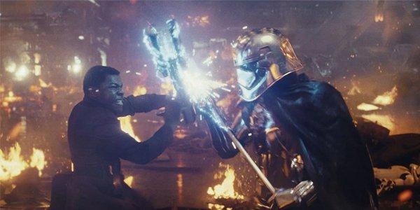 Star Wars The Last Jedi Finn vs Phasma