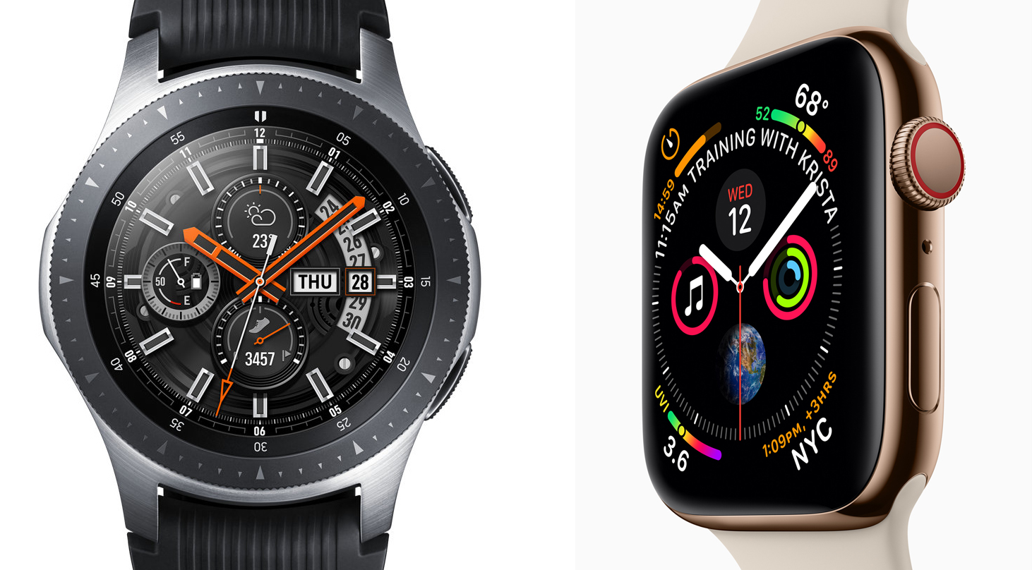 new arrival be21a 56f91 Apple Watch vs. Samsung Galaxy Watch: Which Smartwatch Is Best ...