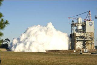 NASA J-2X test