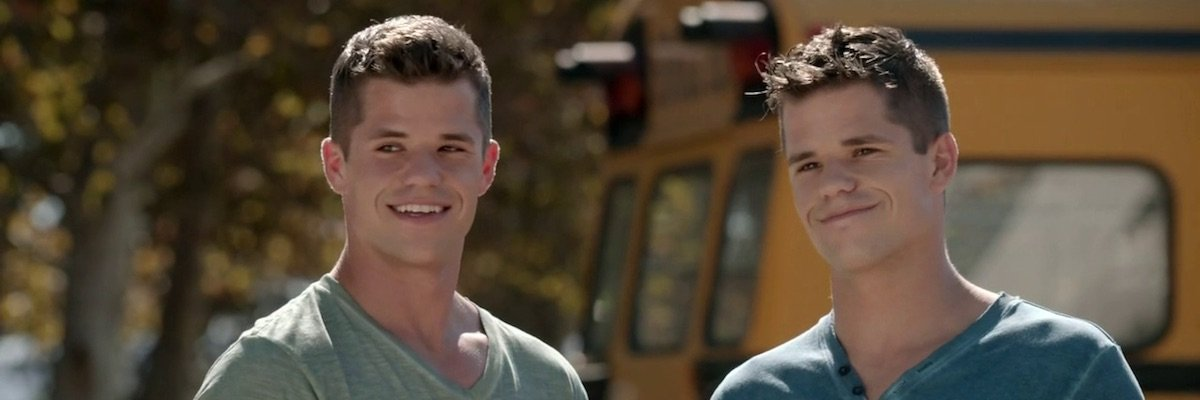 Charlie and Max Carver in Teen Wolf