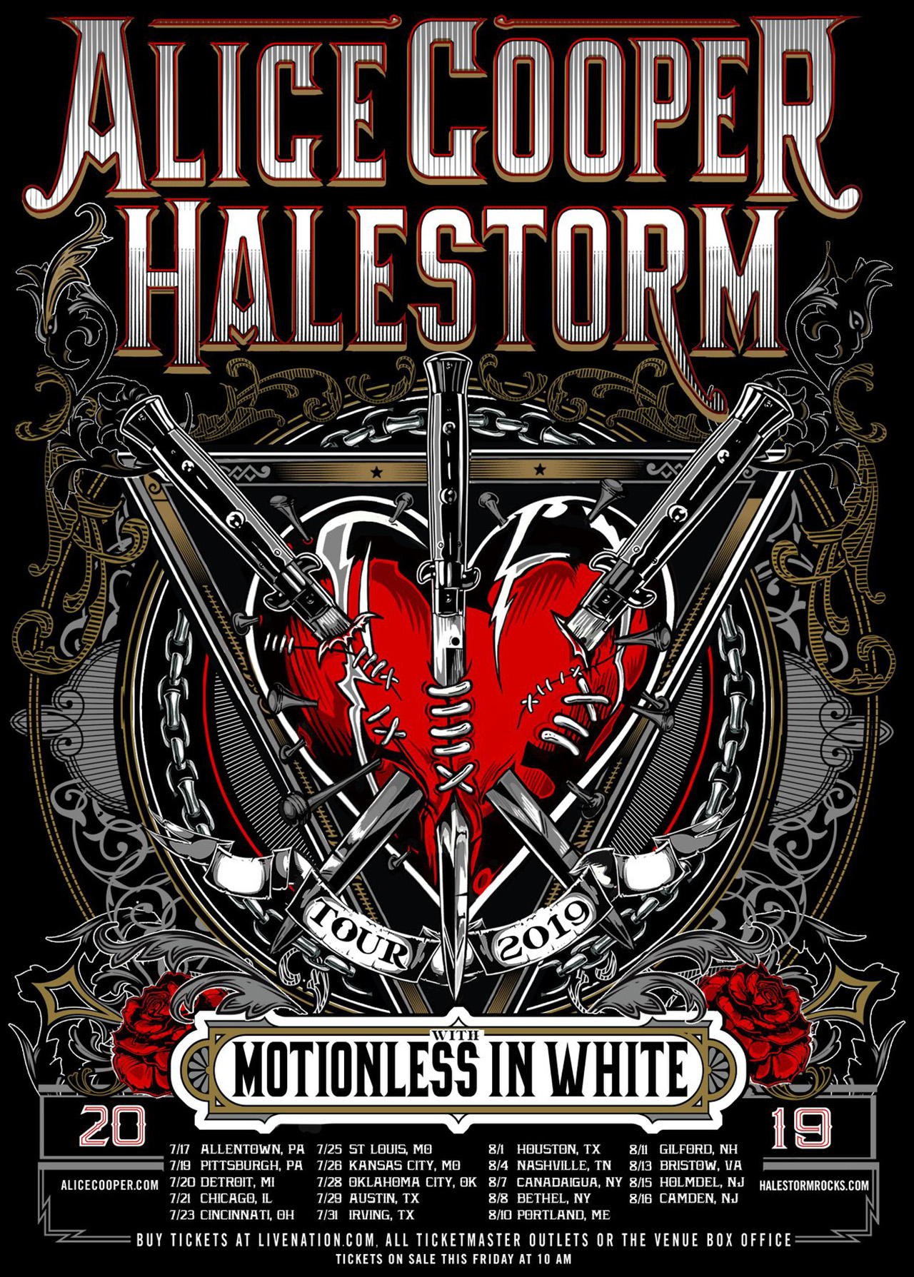 Alice Cooper and Halestorm to tour across the US this summer | Louder
