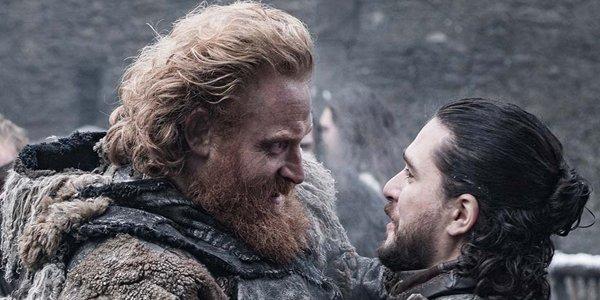 Game of Thrones Season 8 Tormund Jon Snow HBO