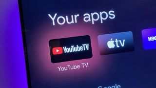 YouTube TV app on Google TV