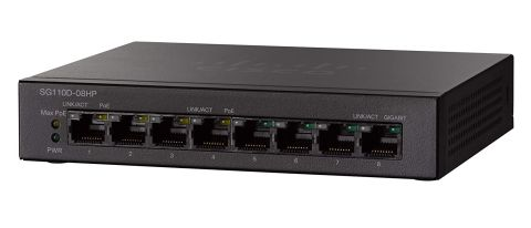 Cisco SG110D-08HP review