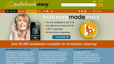 AudiobookStore review