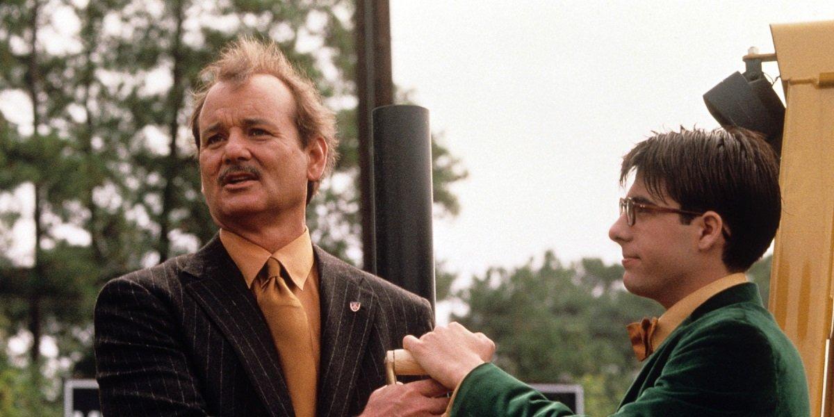 Bill Murray and Jason Schwartzman in Rushmore