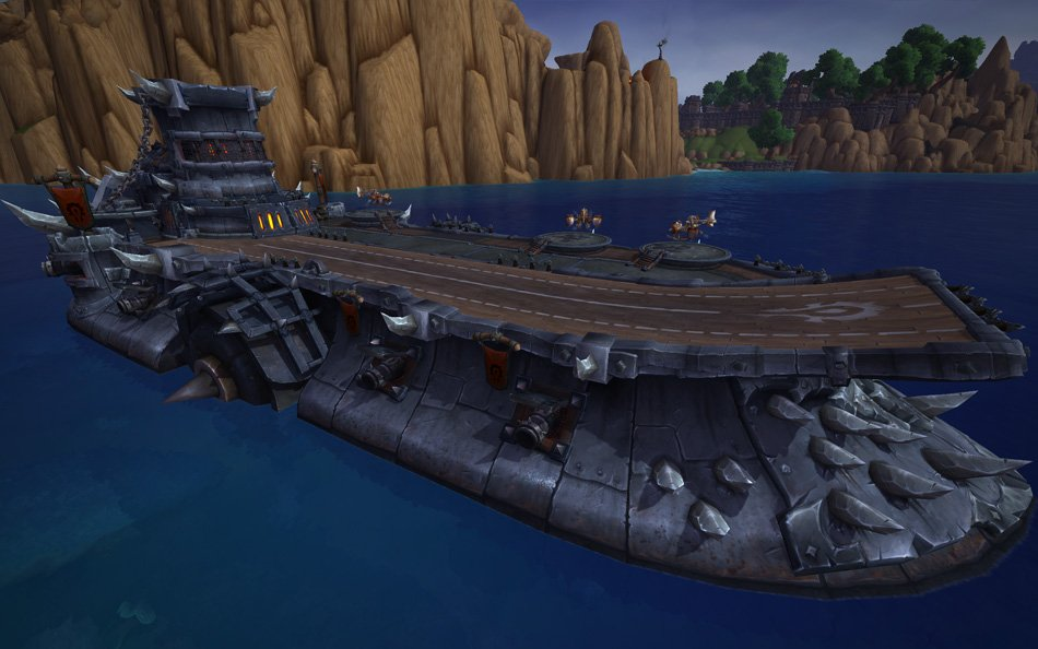 World Of Warcraft Patch 6 2 S Shipyards Will Let You Own