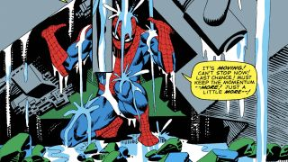 panel from Amazing Spider-Man #33
