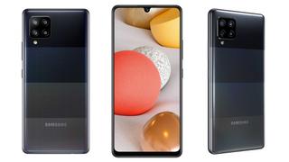 Samsung A42 5G phone.