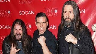 Members of Kataklysm at the Juno Awards