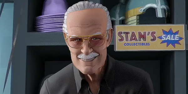 Stan Lee in Into the Spider-Verse