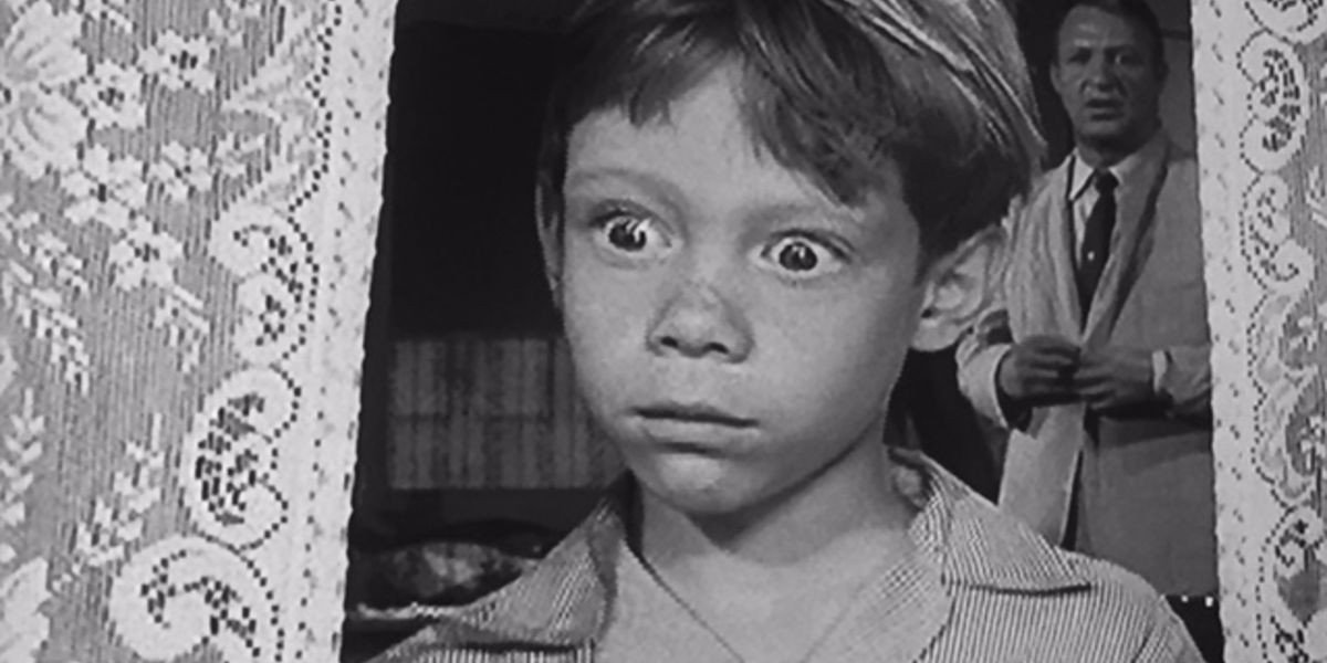Billy Mumy in the foreground
