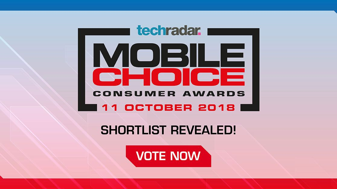 Vote for the winners of the TechRadar Mobile Choice Consumer Awards