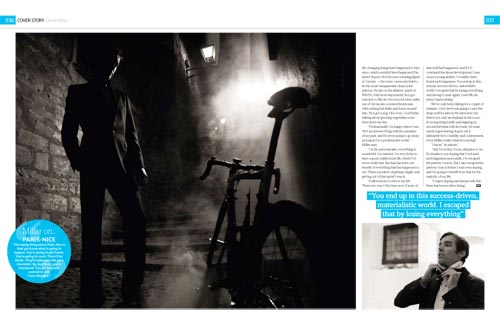 David Millar, Cycle Sport April 2010 issue
