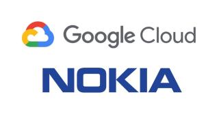 Nokia / Google logos.