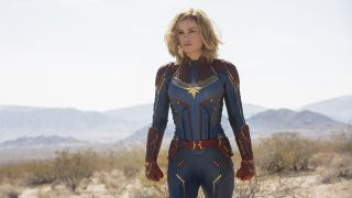An image from new Marvel movie Captain Marvel