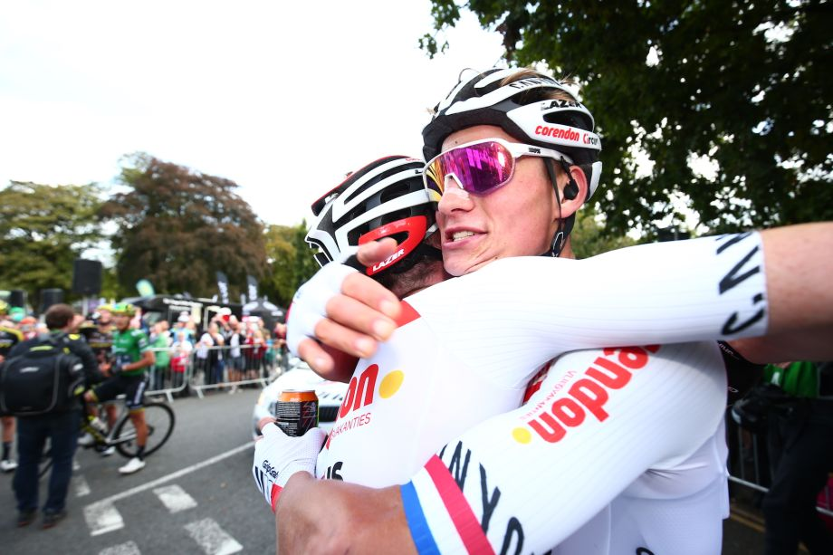 Mathieu van der Poel: Attacking early was a gamble, I didn't know where the finish was