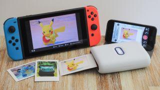 New Pokémon Snap Nintendo Switch Instax Mini Link printing