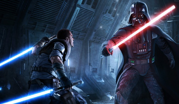 Darth Vader faces his apprentice in The Force Unleashed 2