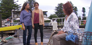 Home and Away, Roo Stewart, Leah Patterson, Irene Roberts