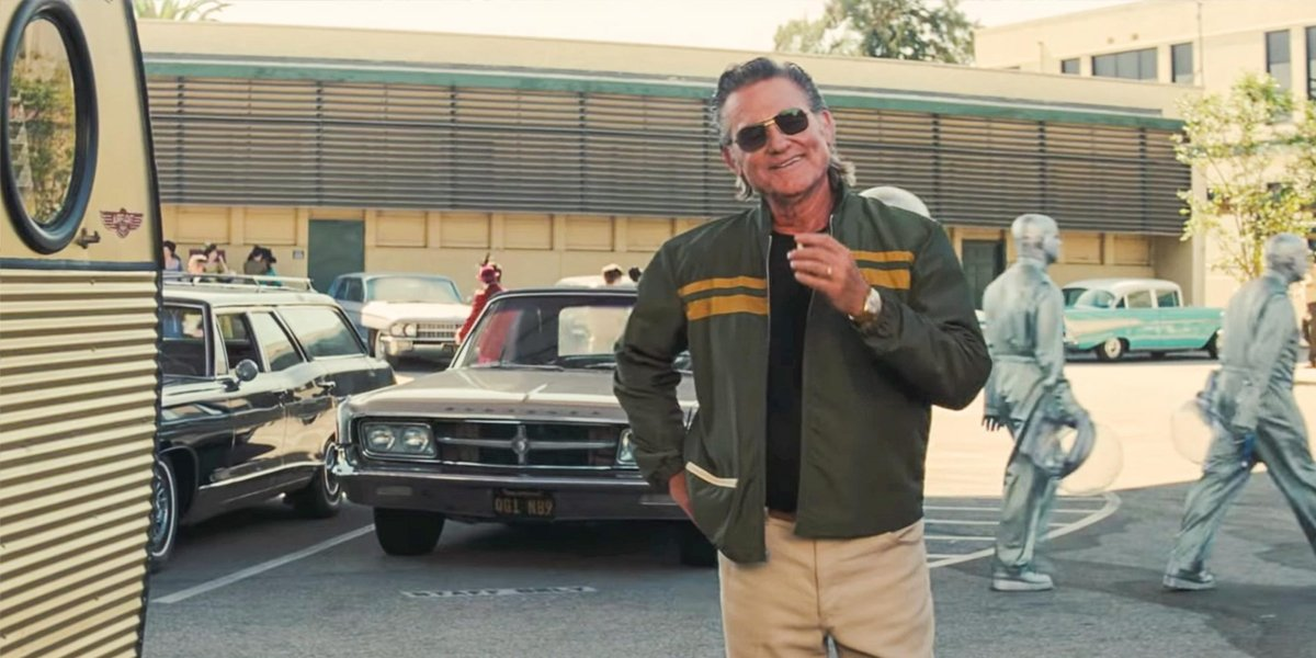Kurt Russell In Once Upon A TIme In Hollywood