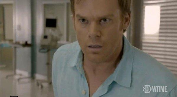 Dexter stops