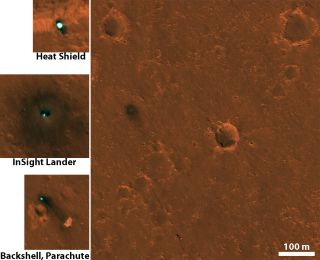 NASA's Insight Lander on Mars Spotted from Space!