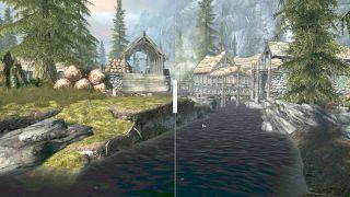 Skyrim VR running FSR