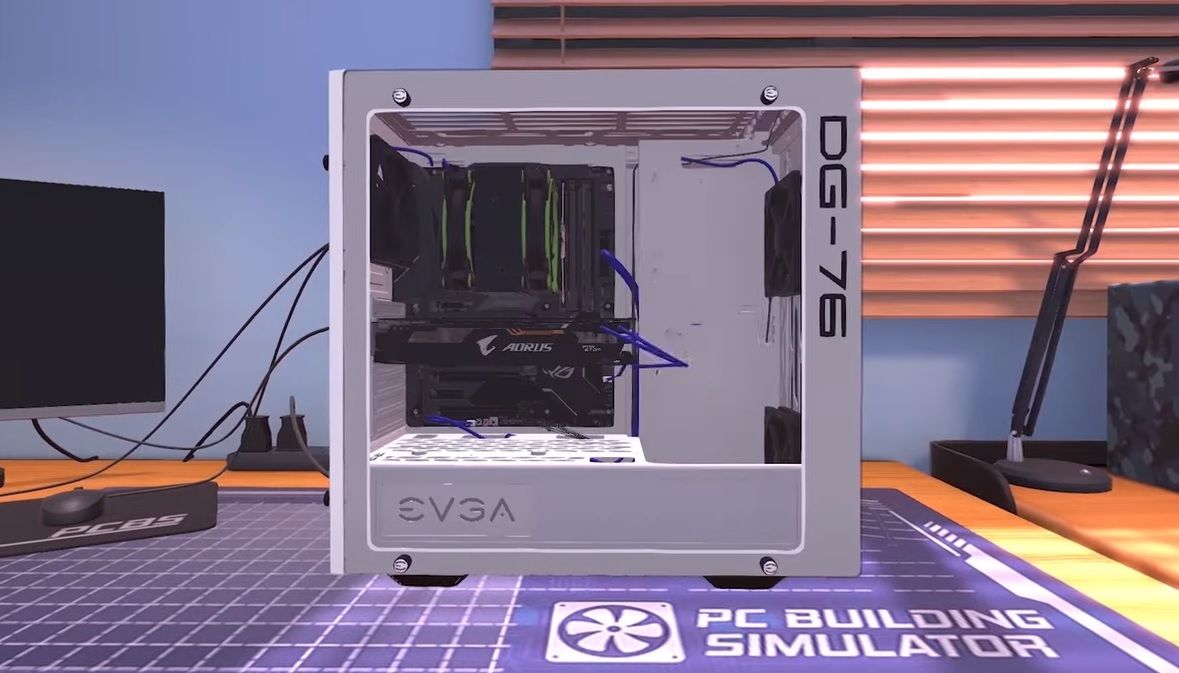PC Building Simulator is now available on consoles so you can see what you're missing