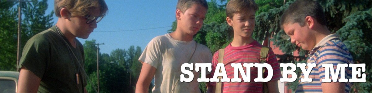 Adapting Stephen King banner Stand By Me