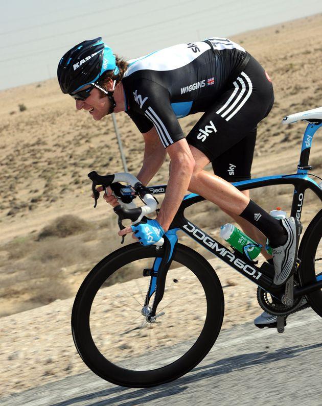 Bradley Wiggins, Tour of Qatar 2011, stage one