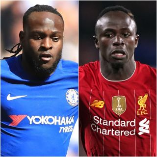 Victor Moses and Sadio Mane