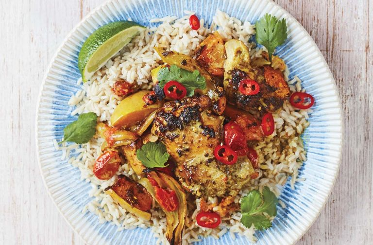 Chicken curry by Jamie Oliver for Tesco