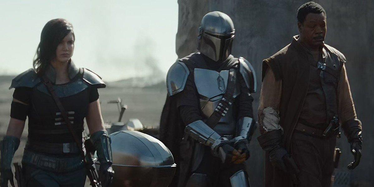Cara Dune, The Mandalorian and Greef Karga