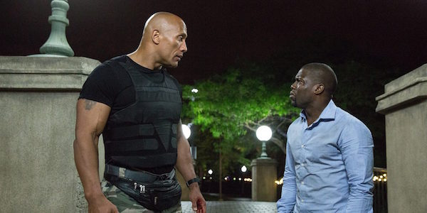 Watch Kevin Hart And The Rock Get Awkwardly Close In Latest BTS Jumanji Video