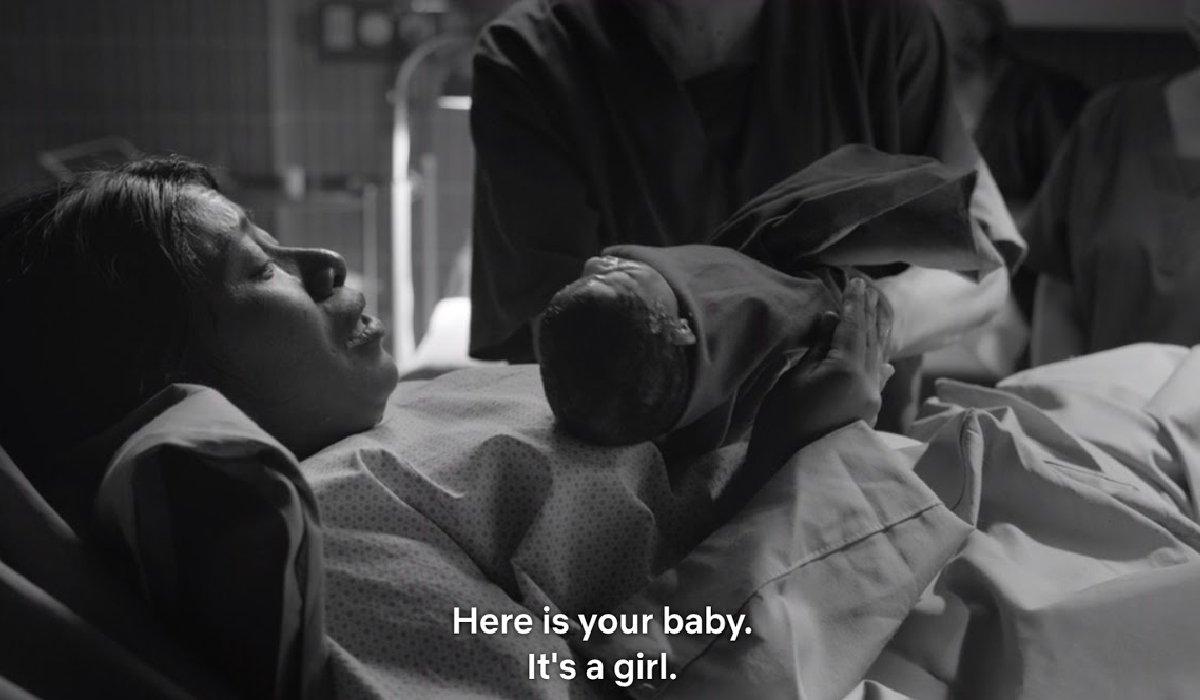 Roma Cleo meets her stillborn daughter