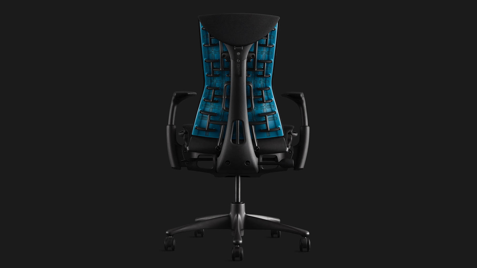 Herman Miuller Logitech G Embody gaming chair from various angles