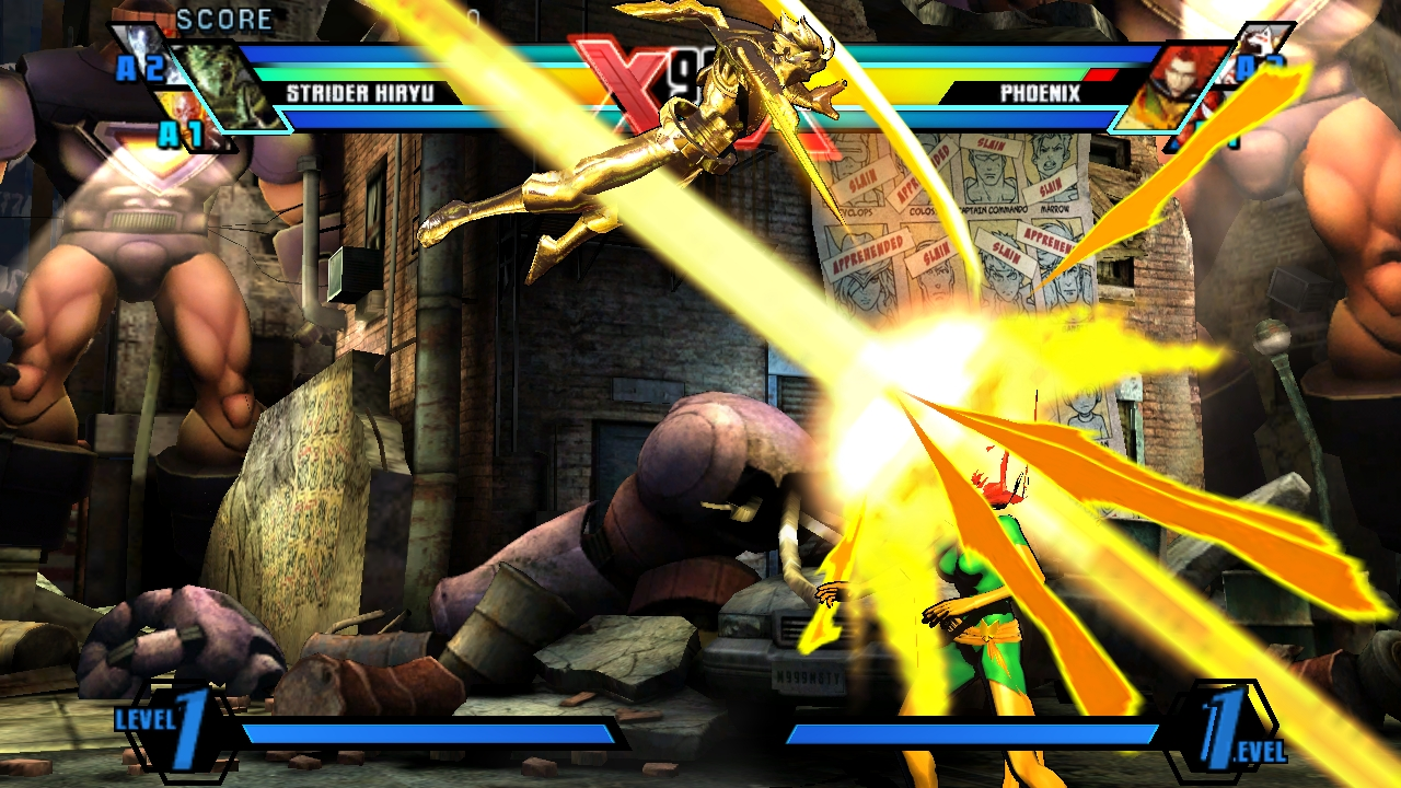 Ultimate Marvel Vs Capcom 3 PS Vita Screenshots #19943