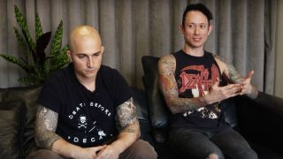 Matt and Paolo from Trivium
