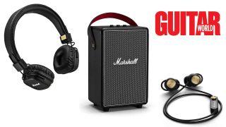 Marshall speakers and headphones