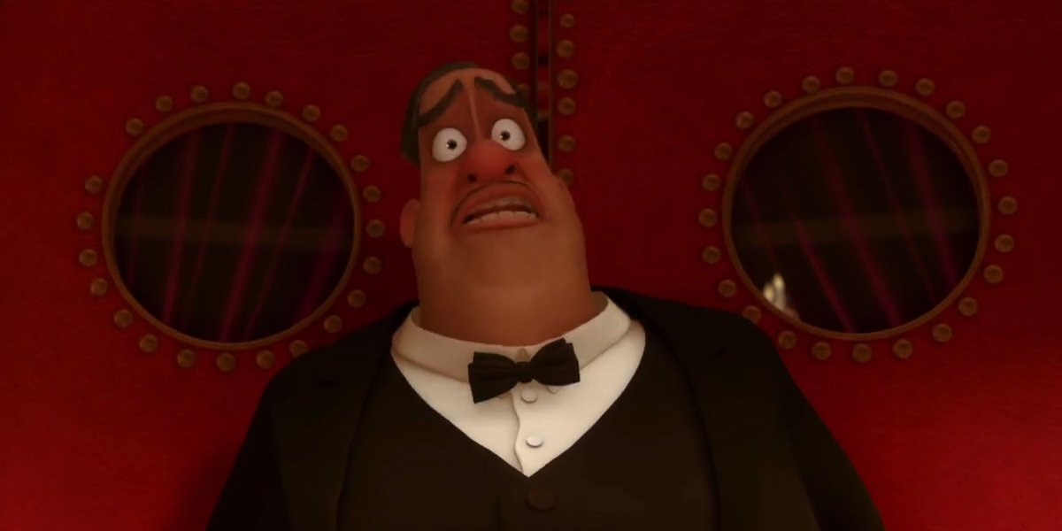 John Ratzenberger as Mustafa in Ratatouille