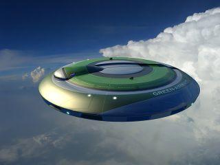 ufo-like aircraft