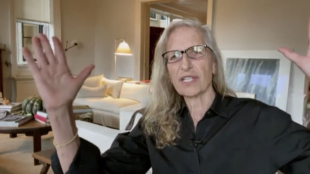 Annie Leibovitz has been photographing landscapes and doing 'virtual shoots'