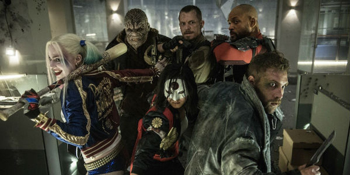 The cast of the Oscar-winning supervillain movie Suicide Squad