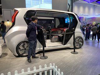 LG self-driving car concept